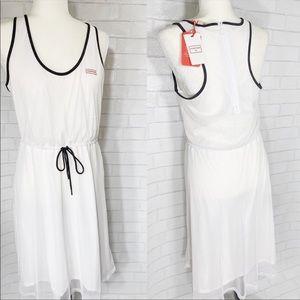 NWT Hunter for Target white mesh tank dress